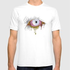Sight of the Surgeon SMALL White Mens Fitted Tee