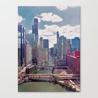 Chicago River View III Canvas Print