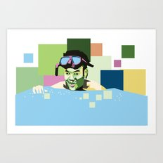 WPAP Art Print