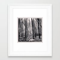 North 2 Framed Art Print