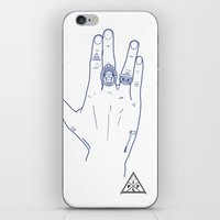 Make My Hands Famous - Part V iPhone & iPod Skin