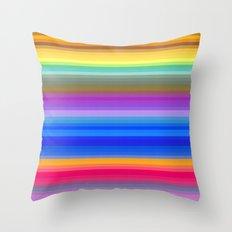 Watercolaroid Throw Pillow