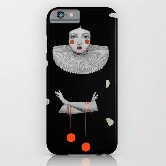 Rodinia in Black iPhone & iPod Case