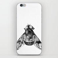 iPhone & iPod Skin featuring Fly by VitaliGisko