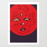 Enlighten Lust Art Print