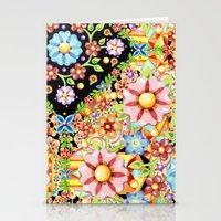 Boho Chic Millefiori Pattern Stationery Cards