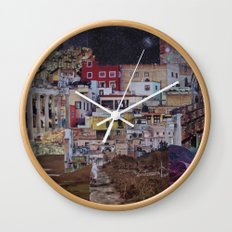Structures Wall Clock