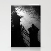 A Dark Winter Night Stationery Cards