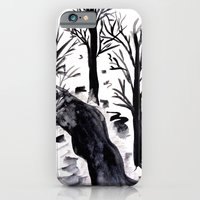 iPhone & iPod Case featuring Black Crystall Frost by Katja_Gerasimova