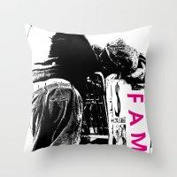 FAME Throw Pillow