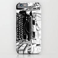 iPhone Cases featuring Shakespeare and Company by Chris Hunt