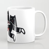 Cat Feast Mug