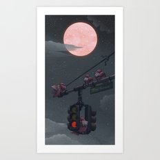 A Time to Rest Art Print