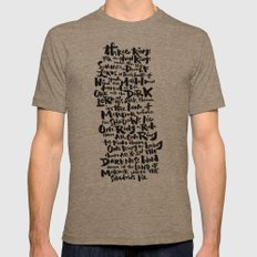 One Ring  Mens Fitted Tee Tri-Coffee SMALL