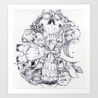 Art Print featuring Facing Direction. by LocalMadMAn