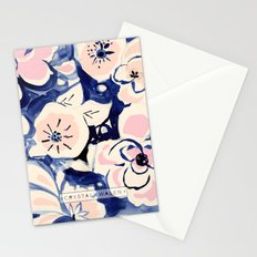Midnight Moonflower Stationery Cards