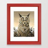 Sentry Framed Art Print