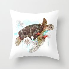 Tortuga Throw Pillow