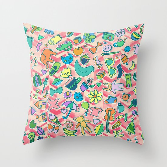 All The Little Things Throw Pillow