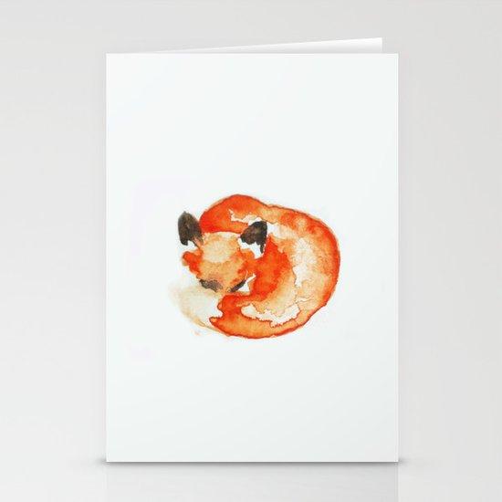 fox Stationery Card