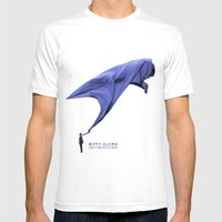 BIFFY 2 Mens Fitted Tee White SMALL