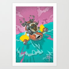 Astro Zodiac Force 02:  Ox Art Print