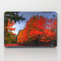 Falling For Red iPad Case