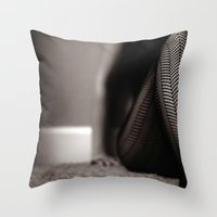 Zig Zag~ Throw Pillow