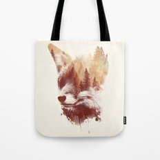 Blind fox Tote Bag