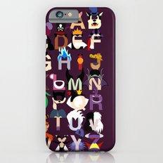 Evil-phabet iPhone 6s Slim Case