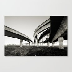 in the same direction Canvas Print