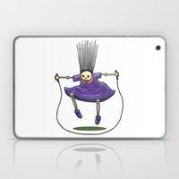 Jumprope Girl Laptop & iPad Skin