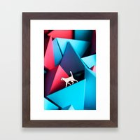 Pattern - 12 Cat Framed Art Print