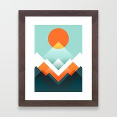 Everest Framed Art Print