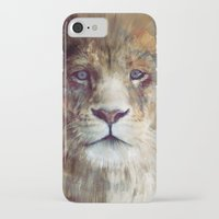 home iPhone & iPod Cases featuring Lion // Majesty by Amy Hamilton