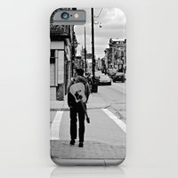 iPhone & iPod Case featuring Life In a Guitar Town by Biff Rendar