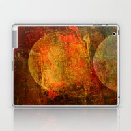 Abstract Moons Laptop & iPad Skin