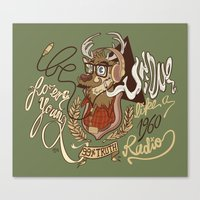 Oh My Deer (be Unique An… Canvas Print