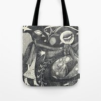 Night Secrets Tote Bag