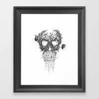 The Vulture Tree Framed Art Print