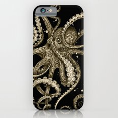 Octopsychedelia Sepia iPhone 6 Slim Case