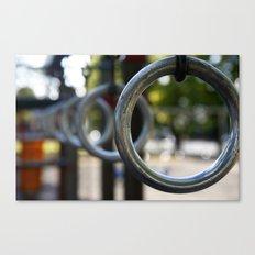 Park Rings Canvas Print