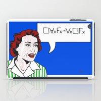 (Converse) Ruth Barcan Marcus iPad Case