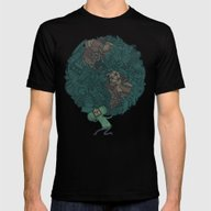 Prince Atlas Mens Fitted Tee Black SMALL