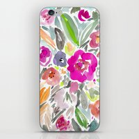 Bravery Floral iPhone & iPod Skin