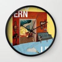 Modern Living  Wall Clock