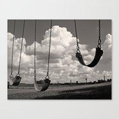 Old School Swings Canvas Print