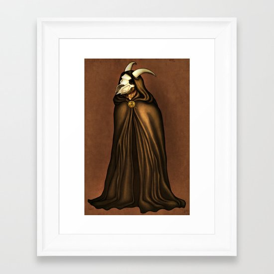 Druid Framed Art Print