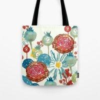 Wildflower Desert Tote Bag