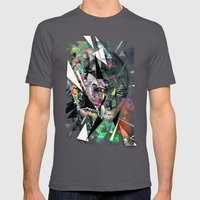Color Mens Fitted Tee Asphalt SMALL